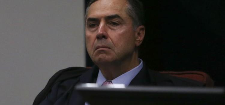 O ministro Luís Roberto Barroso durante audiência pública no Supremo Tribunal Federal sobre descriminalização do aborto.