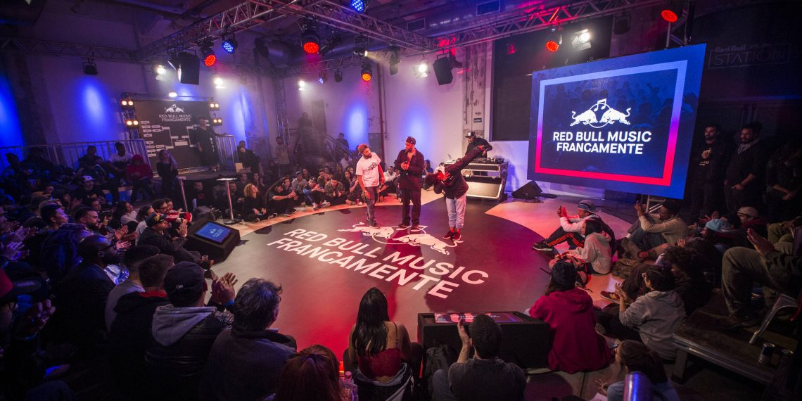 Participants perform at Red Bull Francamente in Sao Paulo, Brazil on June 08, 2018 // Fabio Piva/Red Bull Content Pool // SI201806090061 // Usage for editorial use only //