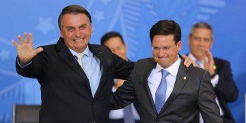 Presidente Jair Bolsonaro na Cerimônia de posse do Ministro de Estado da Cidadania, Joao Roma
